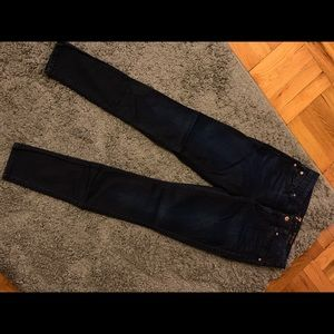 "7 For All Mankind ""High Waist Skinny"" Jean - Sz 29"